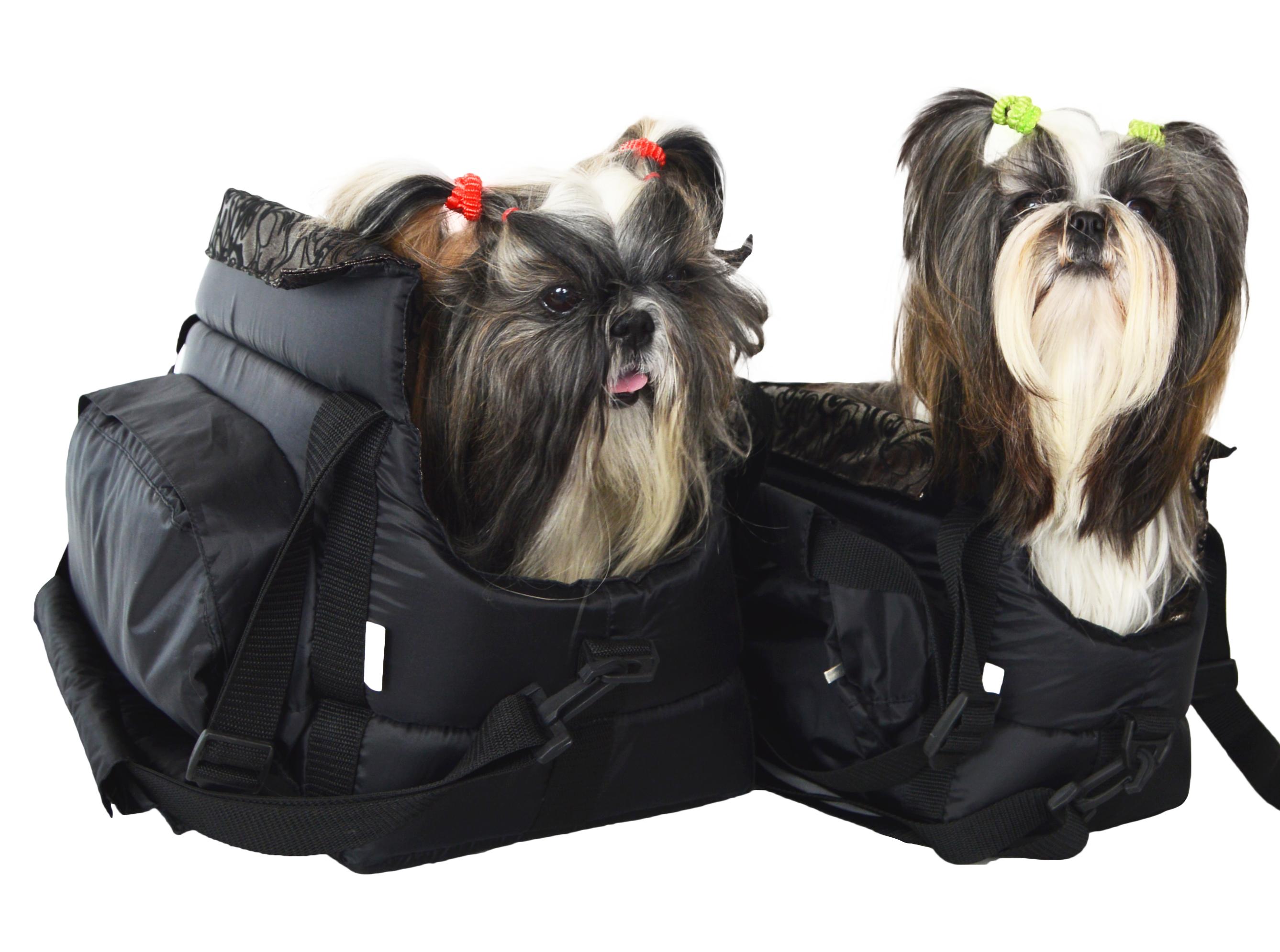Cestovní taška pro psy, no.19, černá, vel. 5
