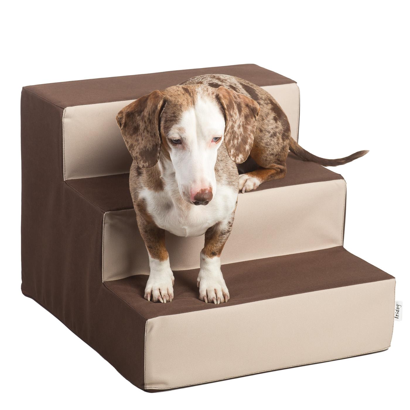 Schody pro psy, no. 29, čokoládovo-béžové, 1 malé