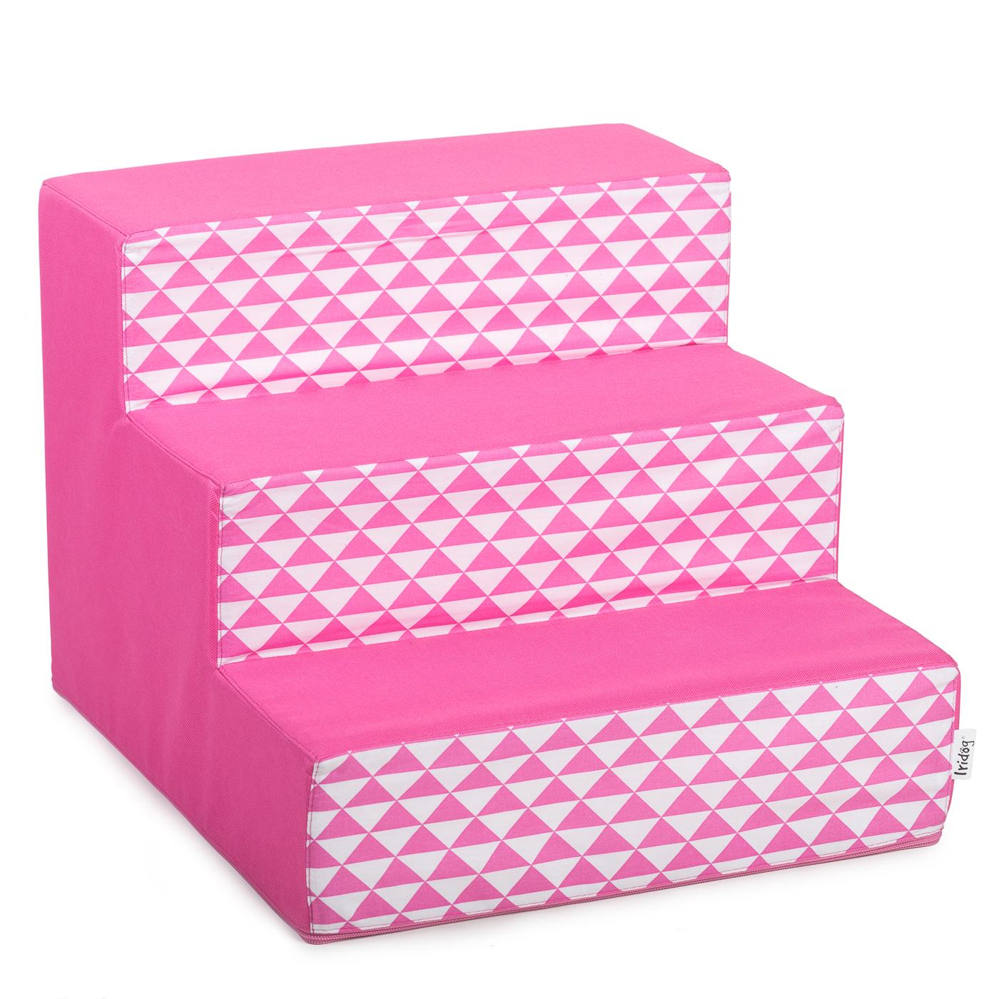 Schody pro psy, no. 40, růžový triangl, 2 velké